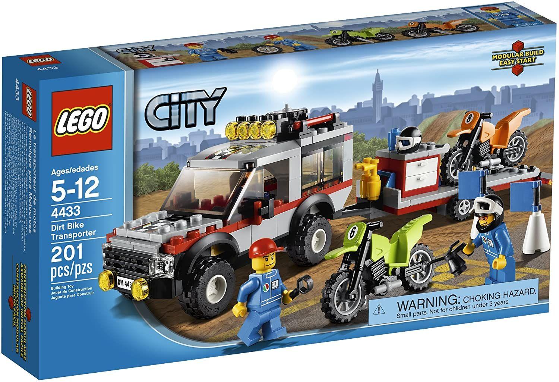 Lego City Town Dirt Bike Transporter In 2020 Lego City Dirt Bike Toys Lego