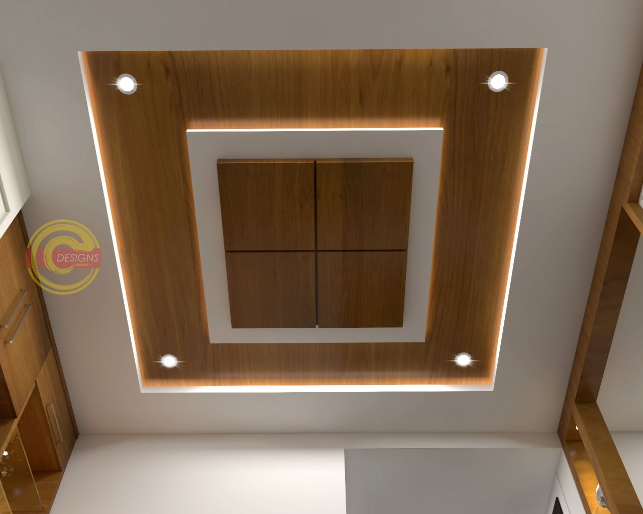 Fall Ceiling Designs Concepts | 3D Concepts in 2020 (With ...