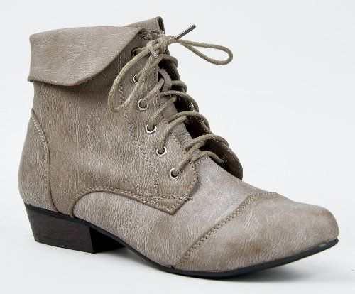 INDY-11 Lace Up Oxford Cuffed Anke Bootie Boot ZooShoo, http://www.amazon.com/dp/B00AEKXUVC/ref=cm_sw_r_pi_dp_dWicrb0T9BYEN