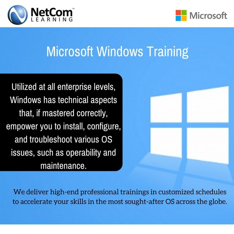 Training Certification Courses For Microsoft Windows In New York