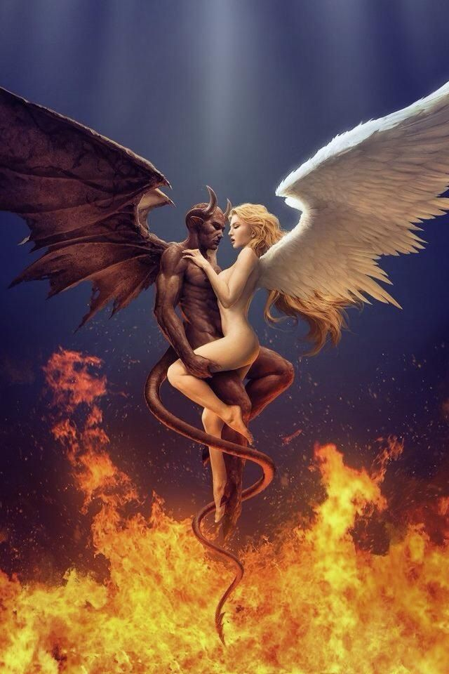 demon fuck angel