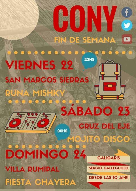 Se viene El Caravanón!!! Este fin de tenés 3 lugares para elegir!!!