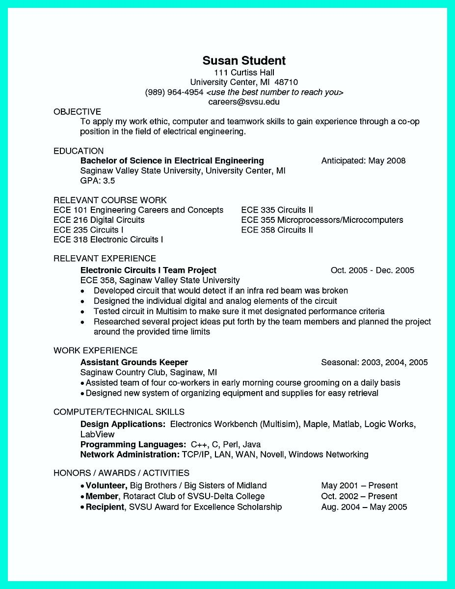Nice The Perfect Computer Engineering Resume Sample To Get Job Soon