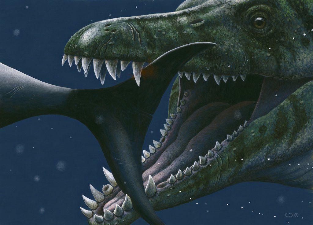 Динозавр плиозавр картинки