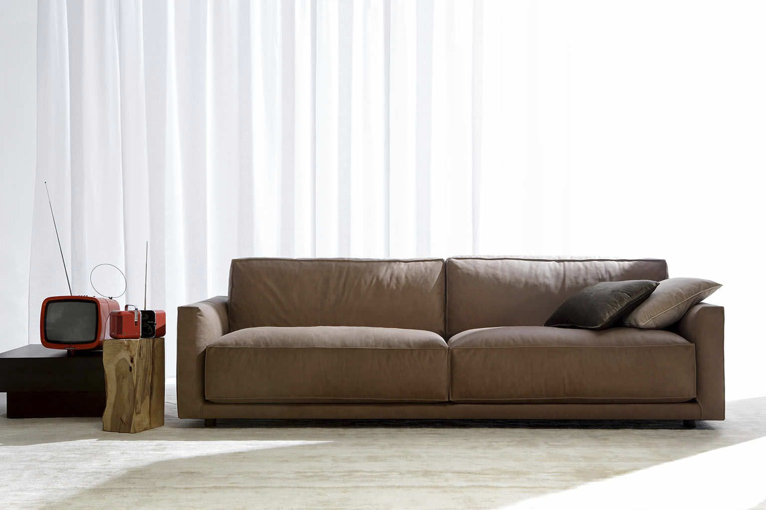 Great Leather Contemporary Sofa   Google Search