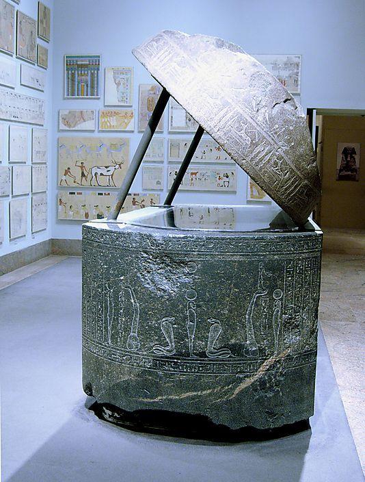 Sarcophagus of Wennefer.'Country of Origin Egypt, Memphite Region, Saqqara, Tomb of Wennefer