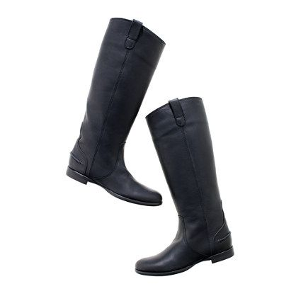 The Archive Boot - Unbelievebly beautifully made. So very chic. Absolutely THE perfect riding boot, with warmth and... ta-da ... comfort built in. I wish I would have found these 30 purchases ago:)
