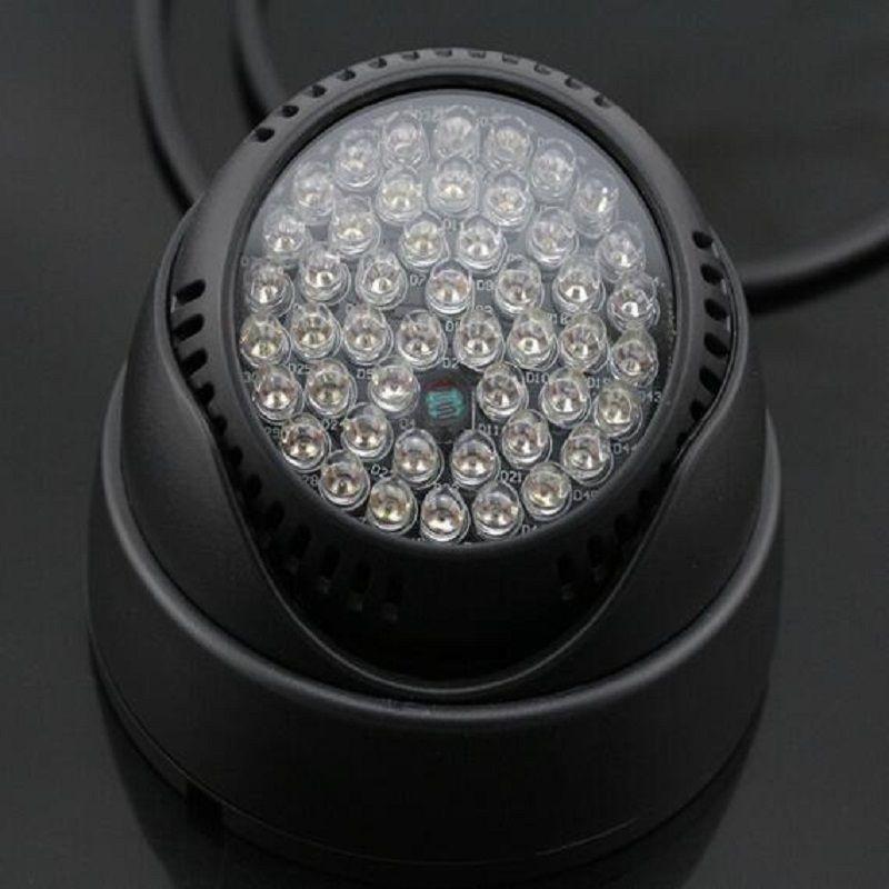 Night Dome Infrared 48pcs Illuminator Light Mini Ir Led Outdoor E29WDHI