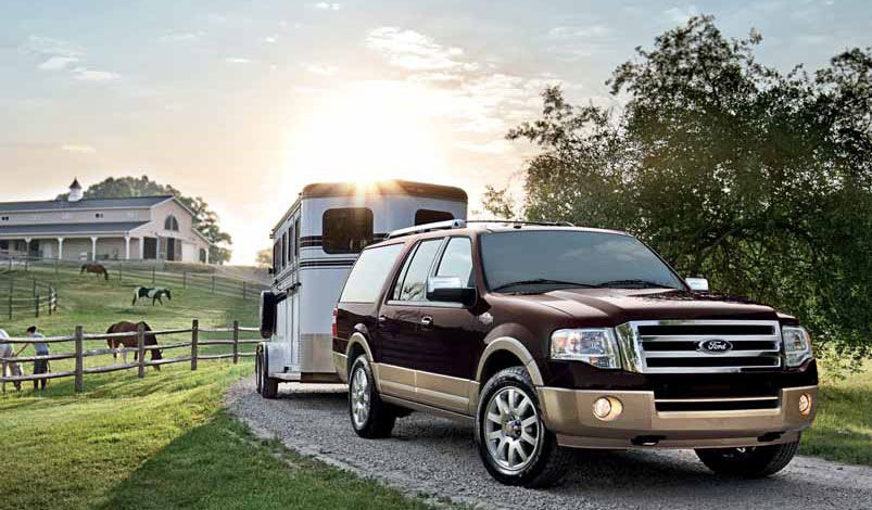 Ford Expedition King Ranch And Ill Even Take The House Yard And