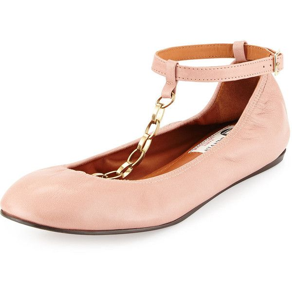 Lanvin Woman Patent-leather Ballet Flats Blush Size 35 Lanvin FEZXm7P