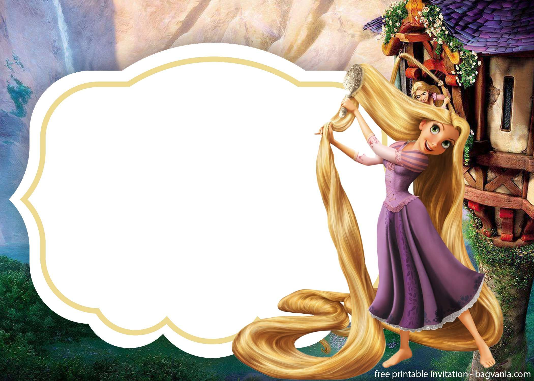 Download Rapunzel Invitations Template For Free Bagvania