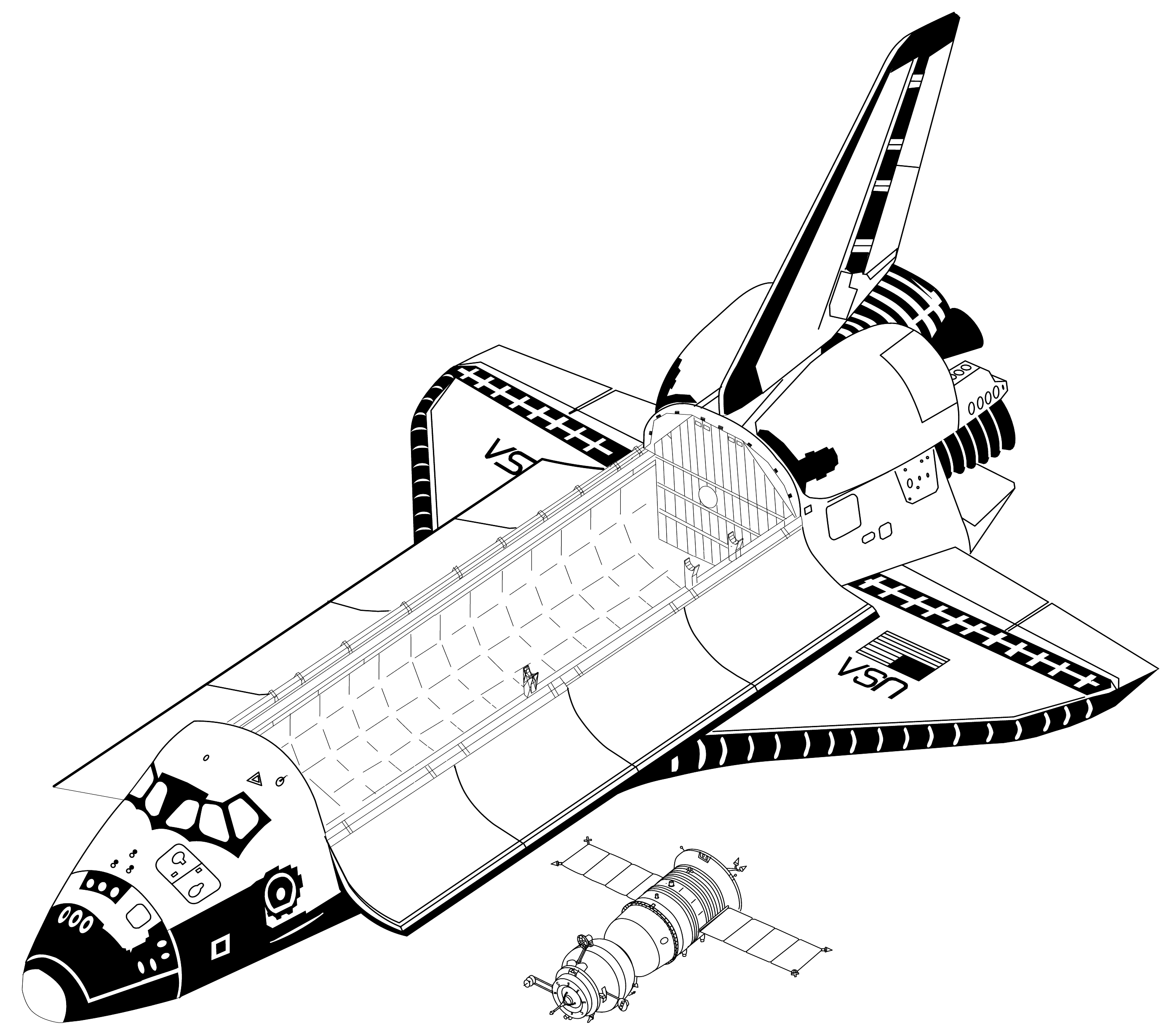space shuttle drawing hd pictures 4 hd wallpapers colur ful rh pinterest com