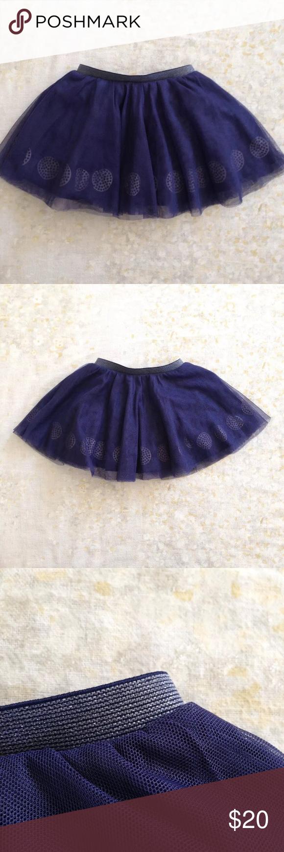 Obaibi Navy Blue Tutu Skirt Circles 6 Mos 68 cm Obaibi, a