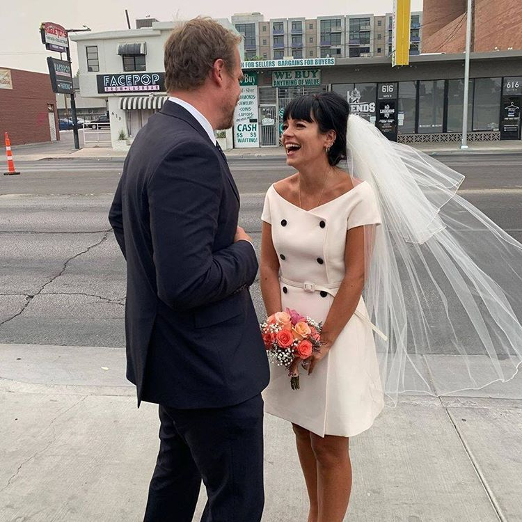 Stranger Things David Harbour and Lily Allen Marry in Las