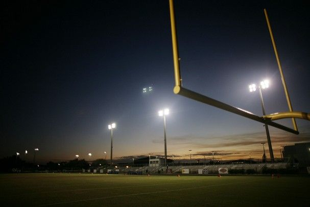 Image detail for -    High School's football field before the start