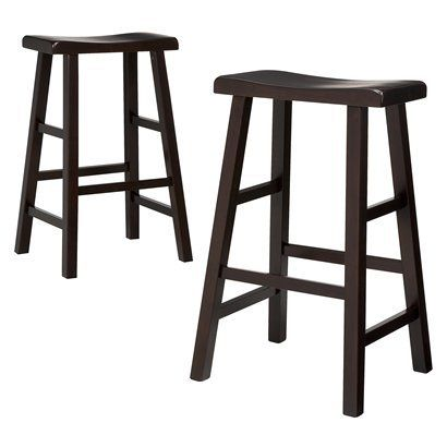 Luis Saddle Stool Espresso For Kitchen Target Com Bar