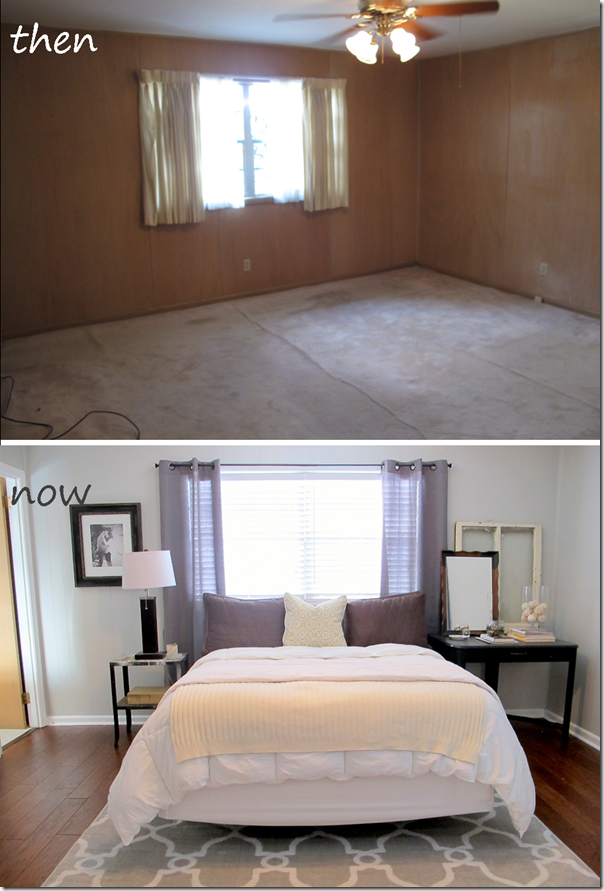 Master Bedroom Makeover After: Master Bedroom Before And After, Gray Walls