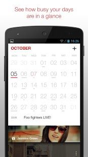Cal Free Simple Calendar App For Android Fast Intuitive