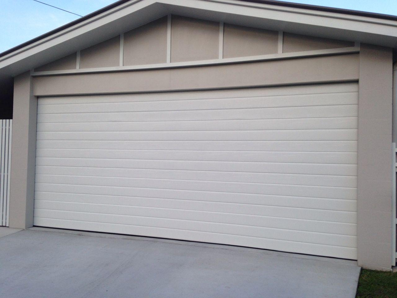 Sectional Door In Surfmist Slimline In 2019 Garage