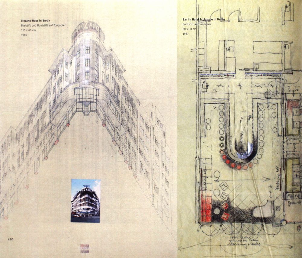 100 Architectural Drawings by Famous Architects V 2 | World Famous