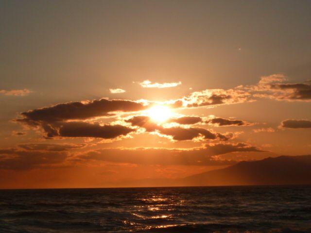Posta de sol al Mediterrani espanyol