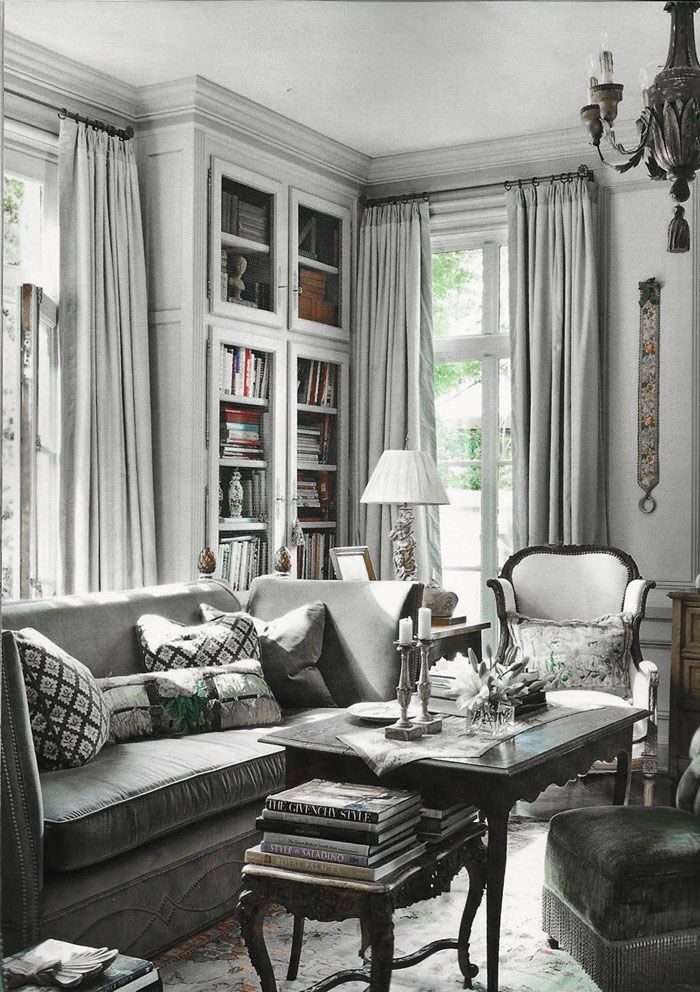 ♅ Dove Gray Home Decor ♅ For more beautiful home decorations take