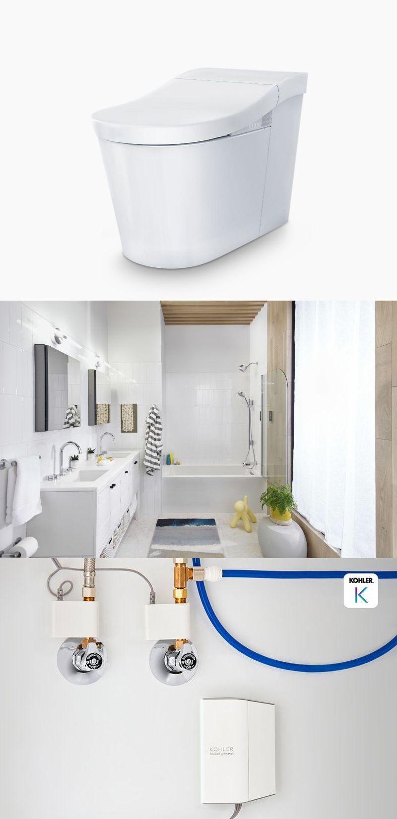 Kohler Showcases New Smart Bathroom Products At Ces 2021 In 2021 Smart Bathroom Bathroom Smart Faucet [ 1651 x 800 Pixel ]