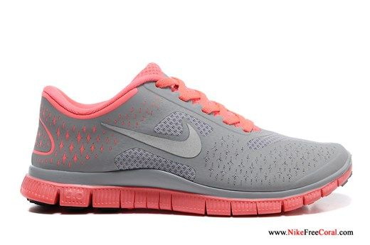 Nike Free 4 0 V2 Gray Pink For Running For Women Nike Free 4 0 V2 Womens 52 90 Nike Shoes For Sale Mens Nike Shoes Nike Free
