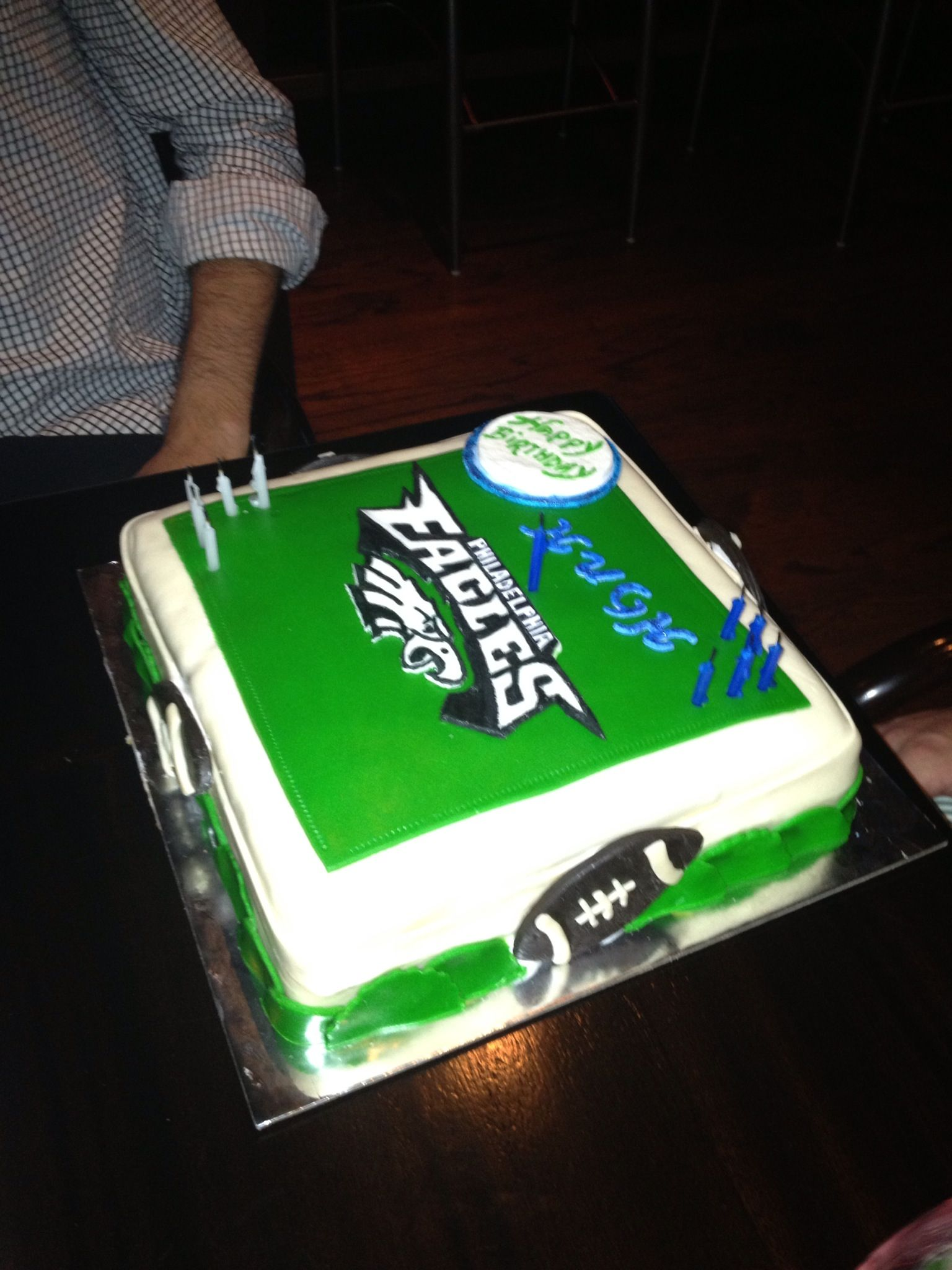 Eagles Nfl Wedding Cake