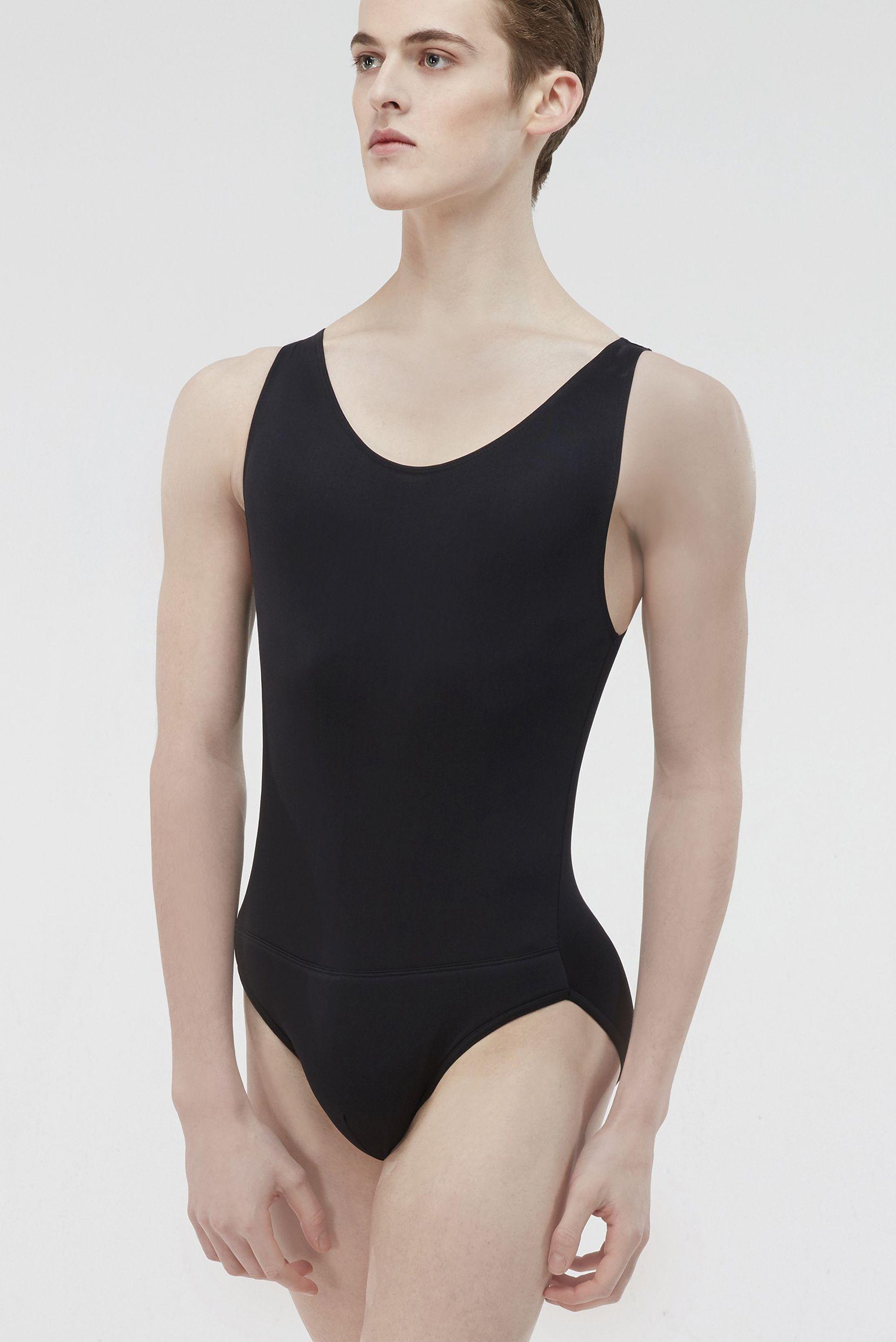 Octave Microfiber Basic Men S Full Tank Leotard With Attached Full Seat Dance Belt Wearmoi Ballet Ballet M Dance Bodysuits Leotard Fashion Ballet Clothes