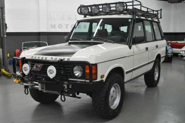 I Love The Old Range Rover Since Jeremy Clarkson Used One To Travel Through Range Rover Overlanding Range Rover Evoque