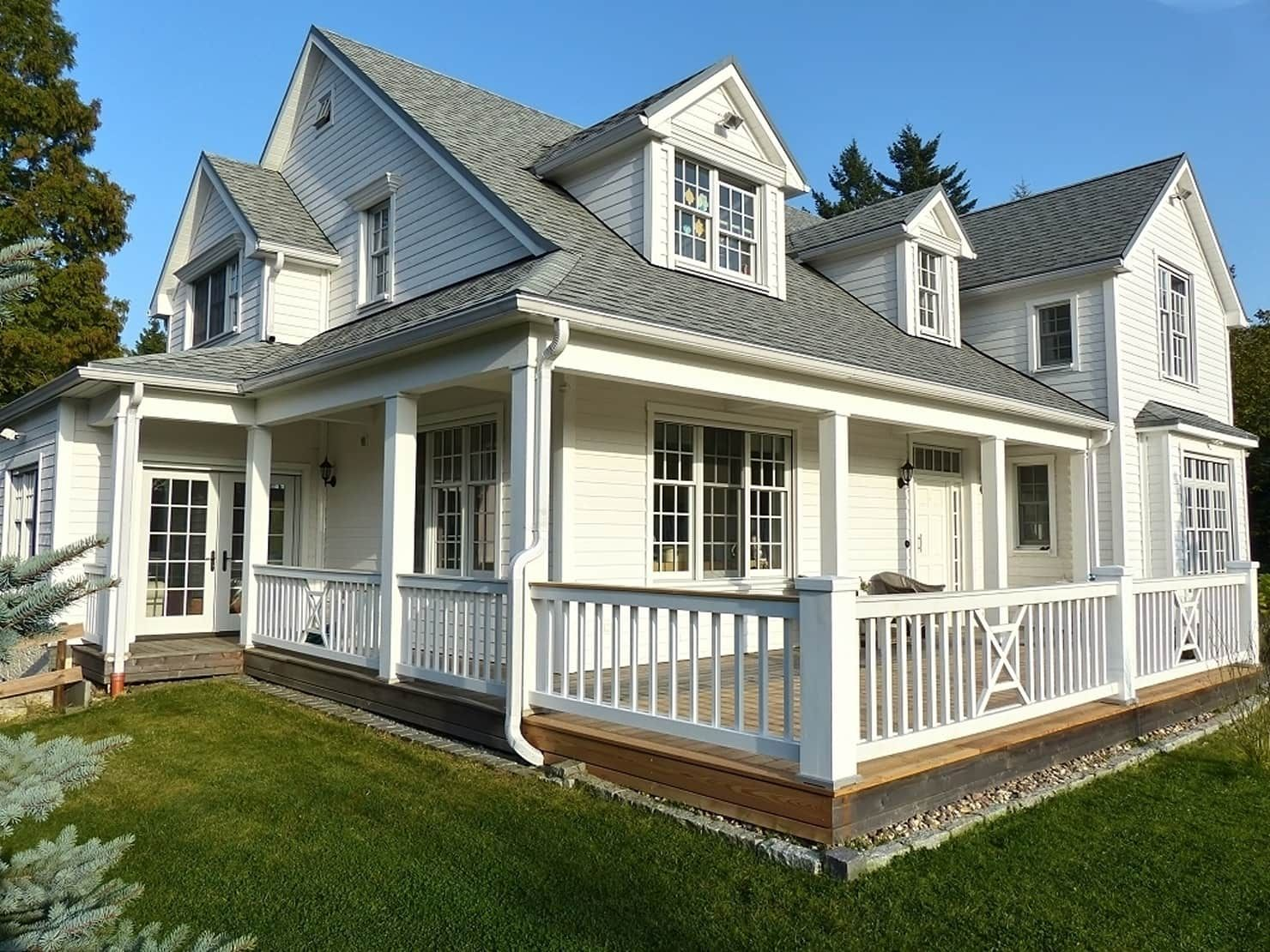 Country style house by the white house american dream ...