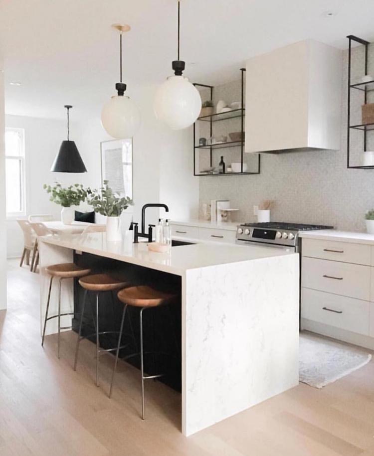 97 Fancy Black And White Kitchen Ideas Kitchen Kitchendesign