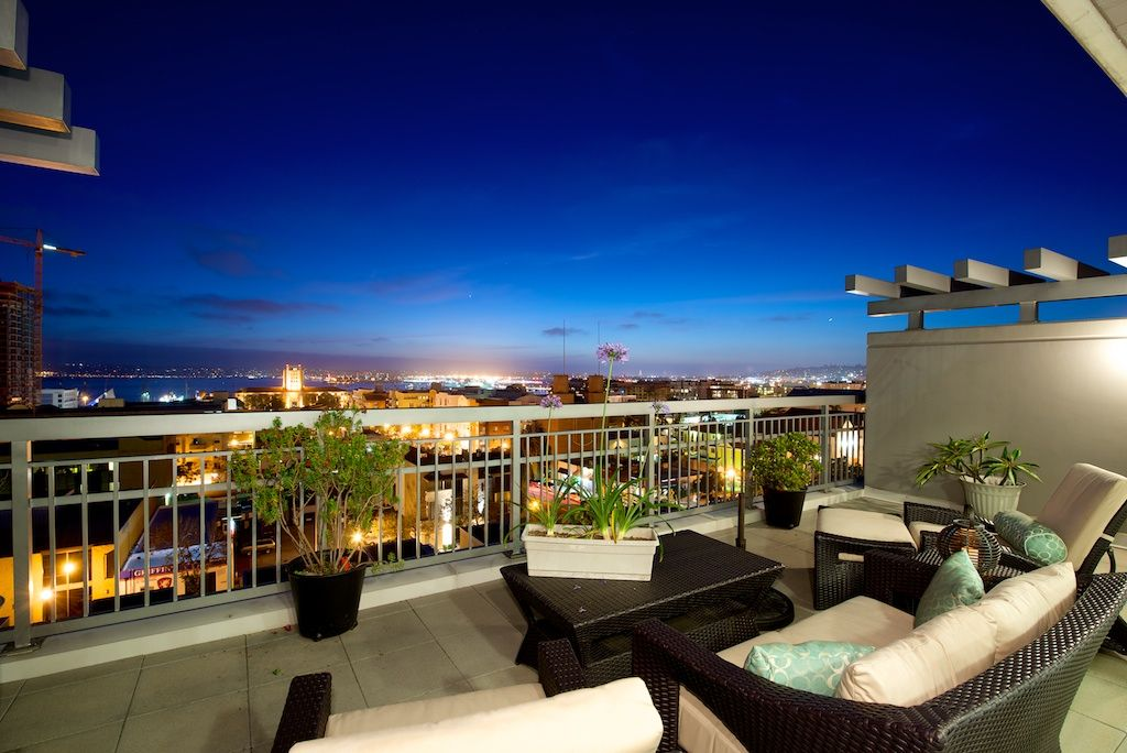 Stunning View From La Vita Mid Rise Penthouse 703 In Little Italy Downtown San Diego 92101 Pent House Dream House Architecture