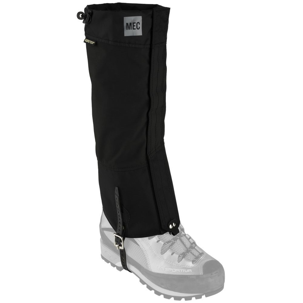 3505685abadc80 MEC Kokanee 2 GORE-TEX Gaiters (Unisex) - Mountain Equipment Co-op. Free  Shipping Available