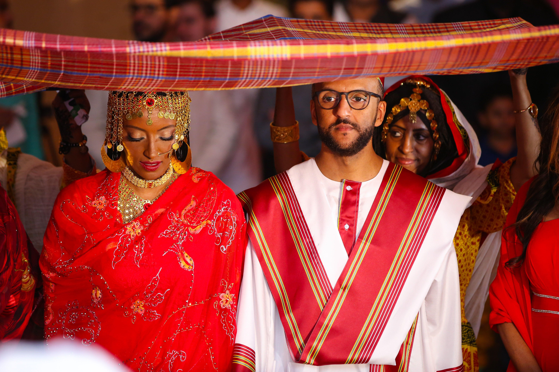 Culture Fusion Wedding Inspiration Eritrean Sudanese Ethiopian