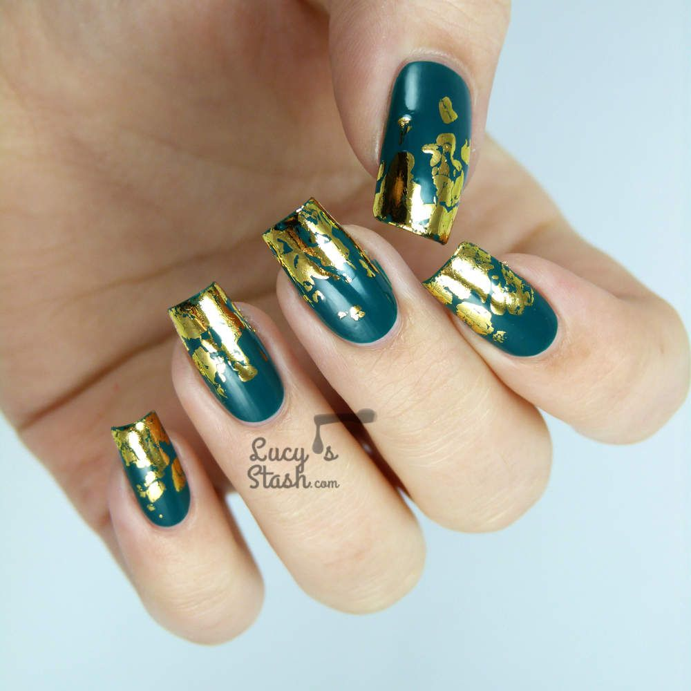 Nail foil art designs images nail art and nail design ideas amazing nail art lucys stash nail art pinterest nail foil i thought i would do a prinsesfo Images