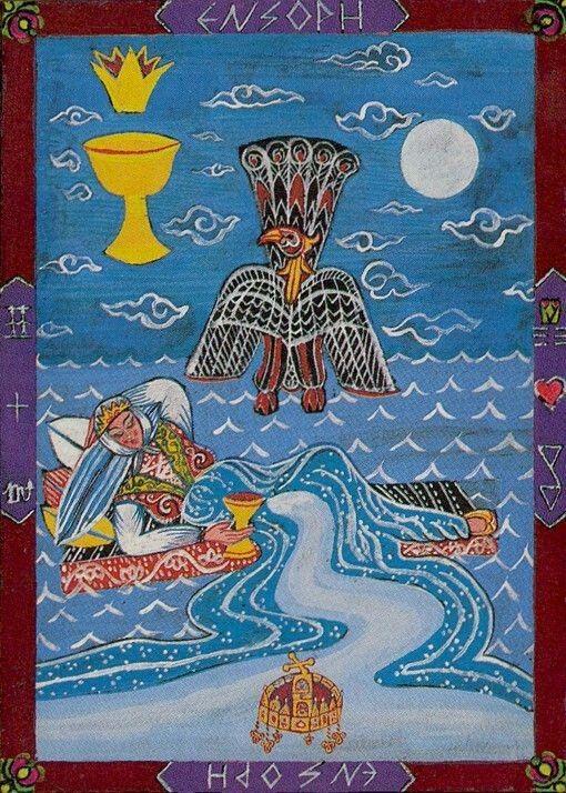 Kazanlar Tarot - Queen of Cups