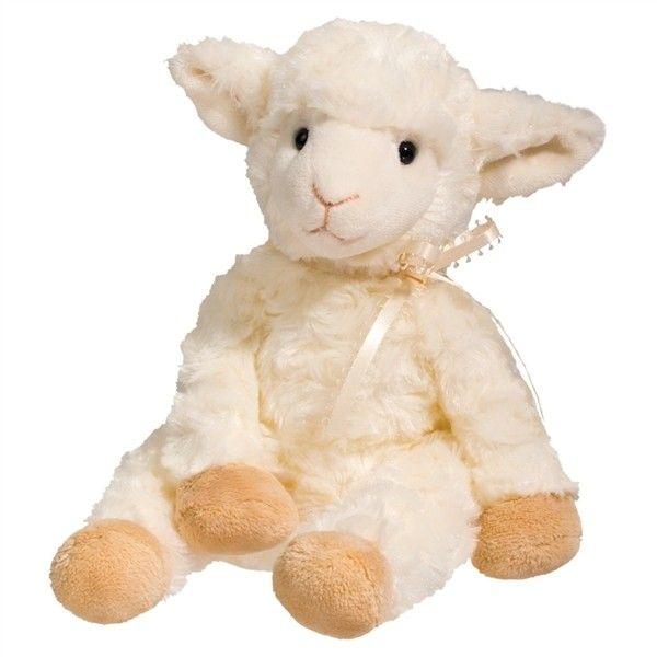 small softly stuffed lamb pudgie douglas stuffed safari 12