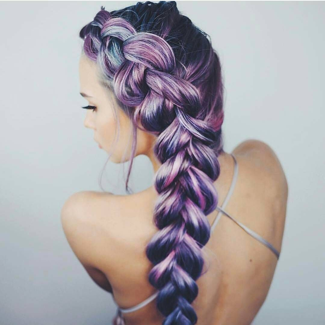 Hair?hot Braided trend this summer pictures
