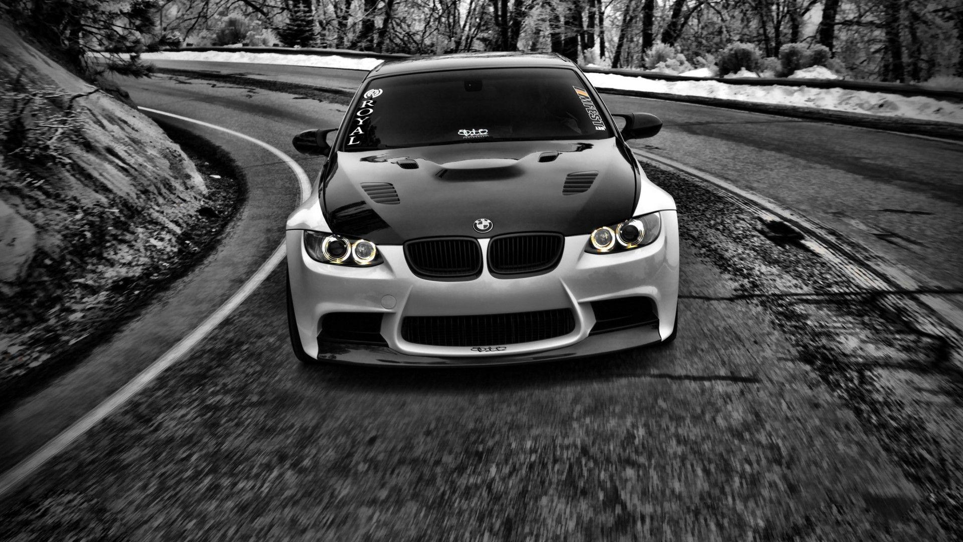 Bmw Car Hd Wallpaper 1080p Bmw Black And White Cars Car Hd