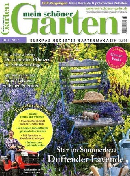Deine lieblings Zeitschrift zum Thema Garten im Abo mit Praemie - mein schoner garten zeitschrift