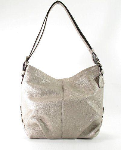 Coach Leather Convertible Duffle Zippered Hobo « Clothing Impulse