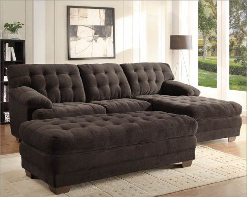 Yes Furniture Get Your Home Decor On Microfiber Sofa Sectional