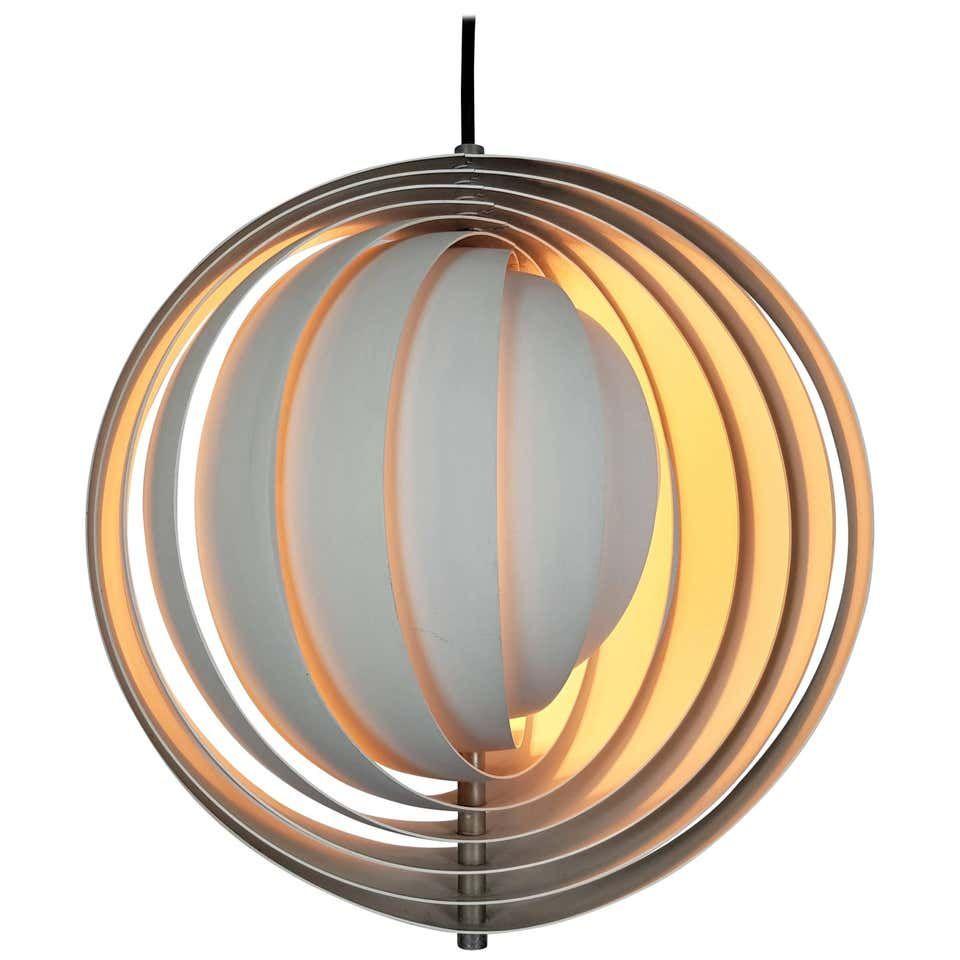 Original Verner Panton Moon Lamp For Louis Poulsen 1960s Louis Poulsen Lamp Poulsen Lamp Verner Panton