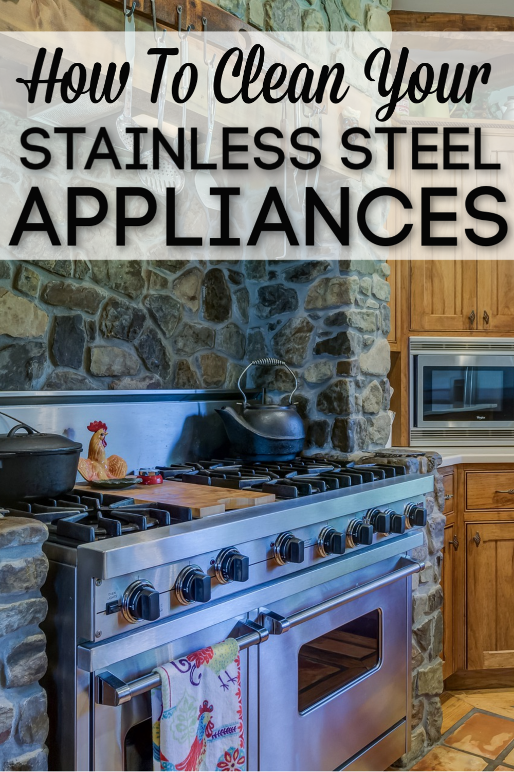 how to clean stainless steel appliances naturally