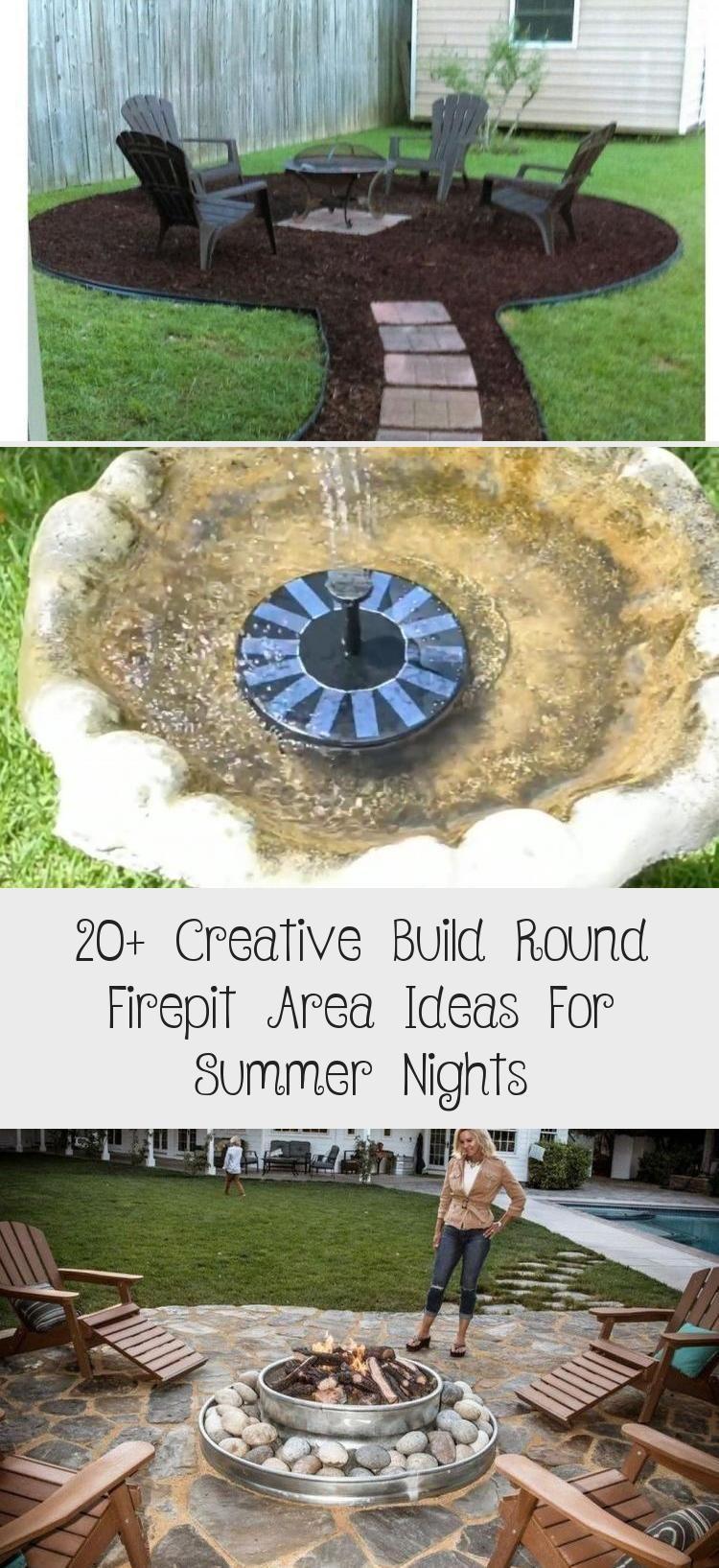 Photo of 20+ Creative Build Round Firepit Area Ideas For Summer Nights – GARDEN