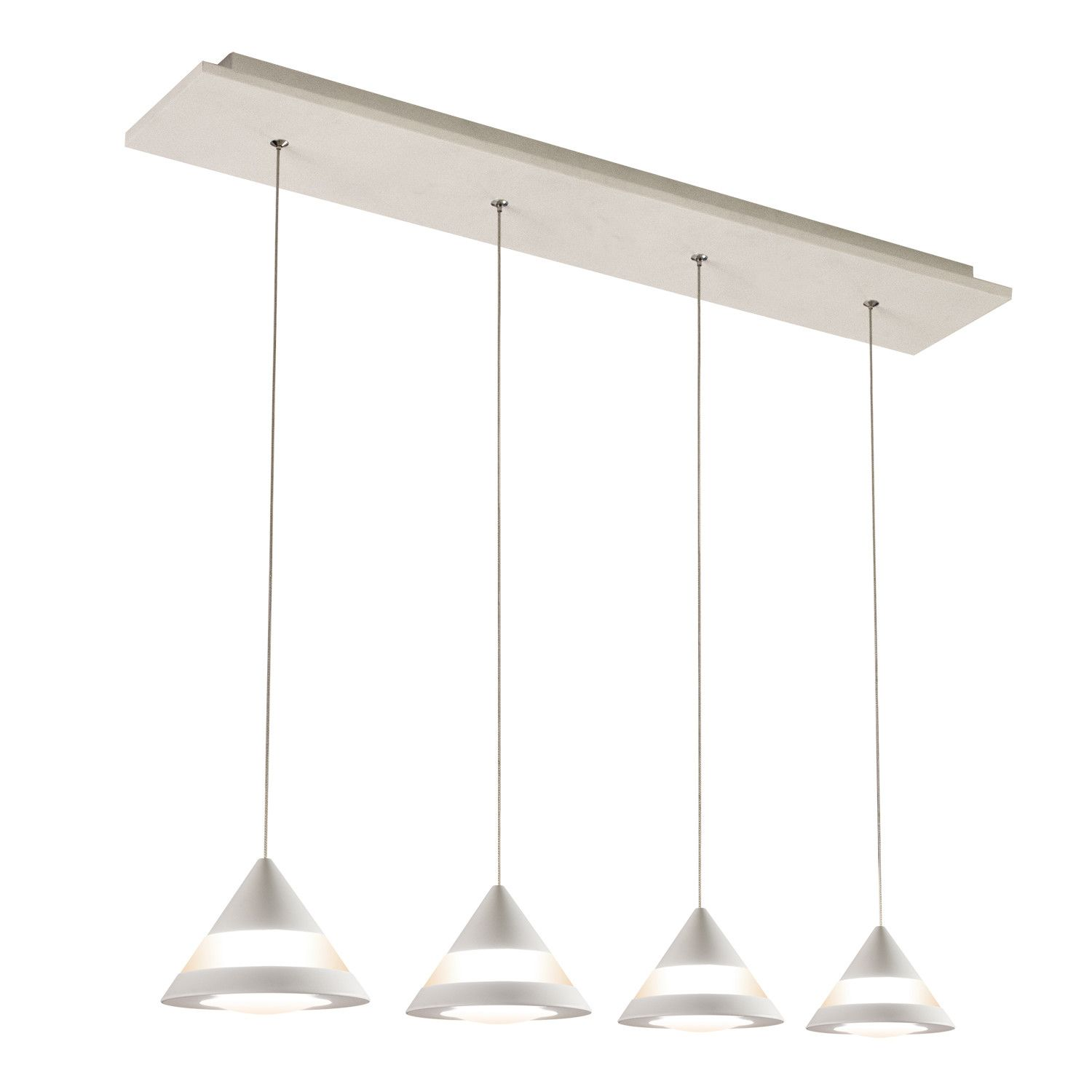 Features: -4 X 4.8W LED (included). -Dimmable. -Ideal For