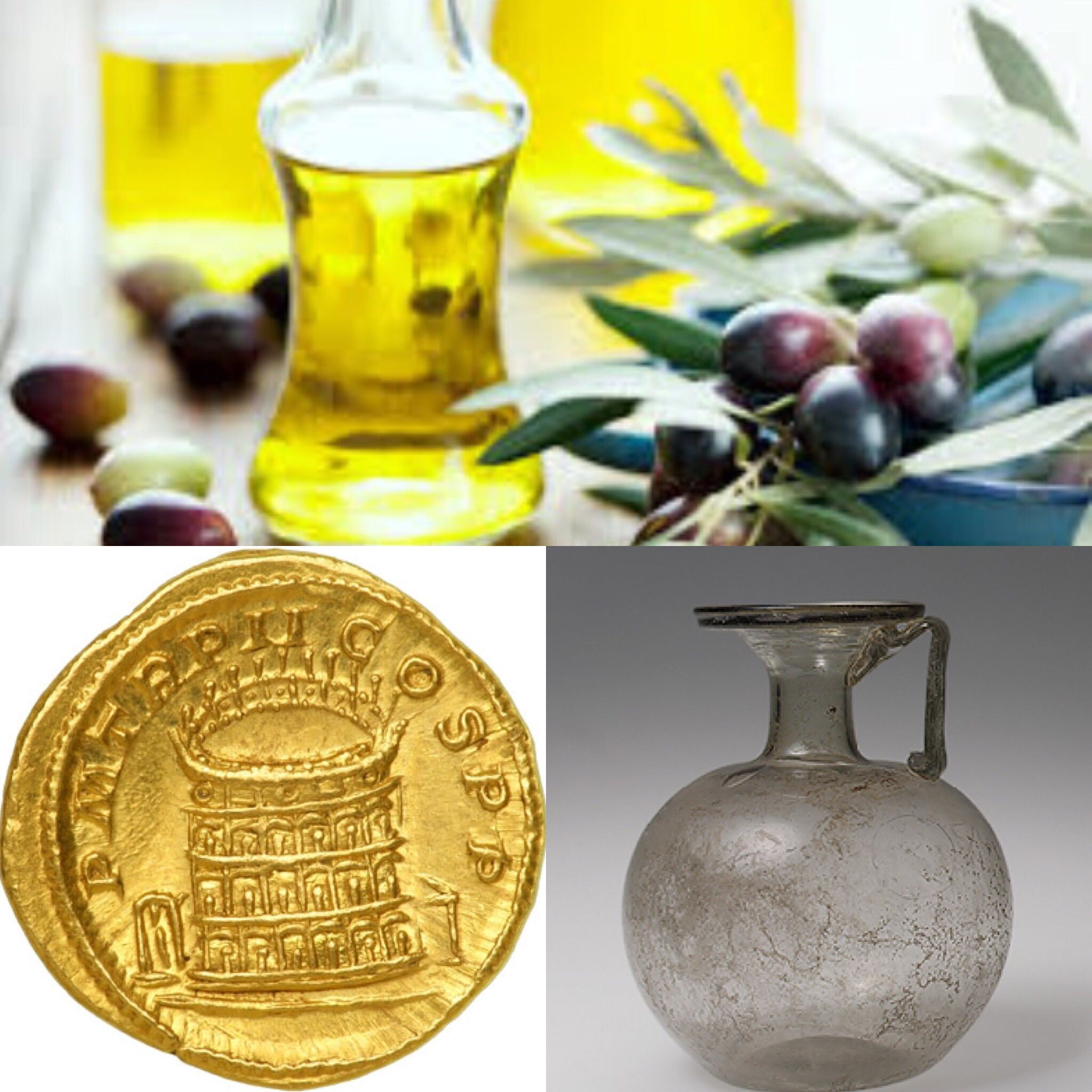 These Are Items From Rome Traded Along The Silk Road. At