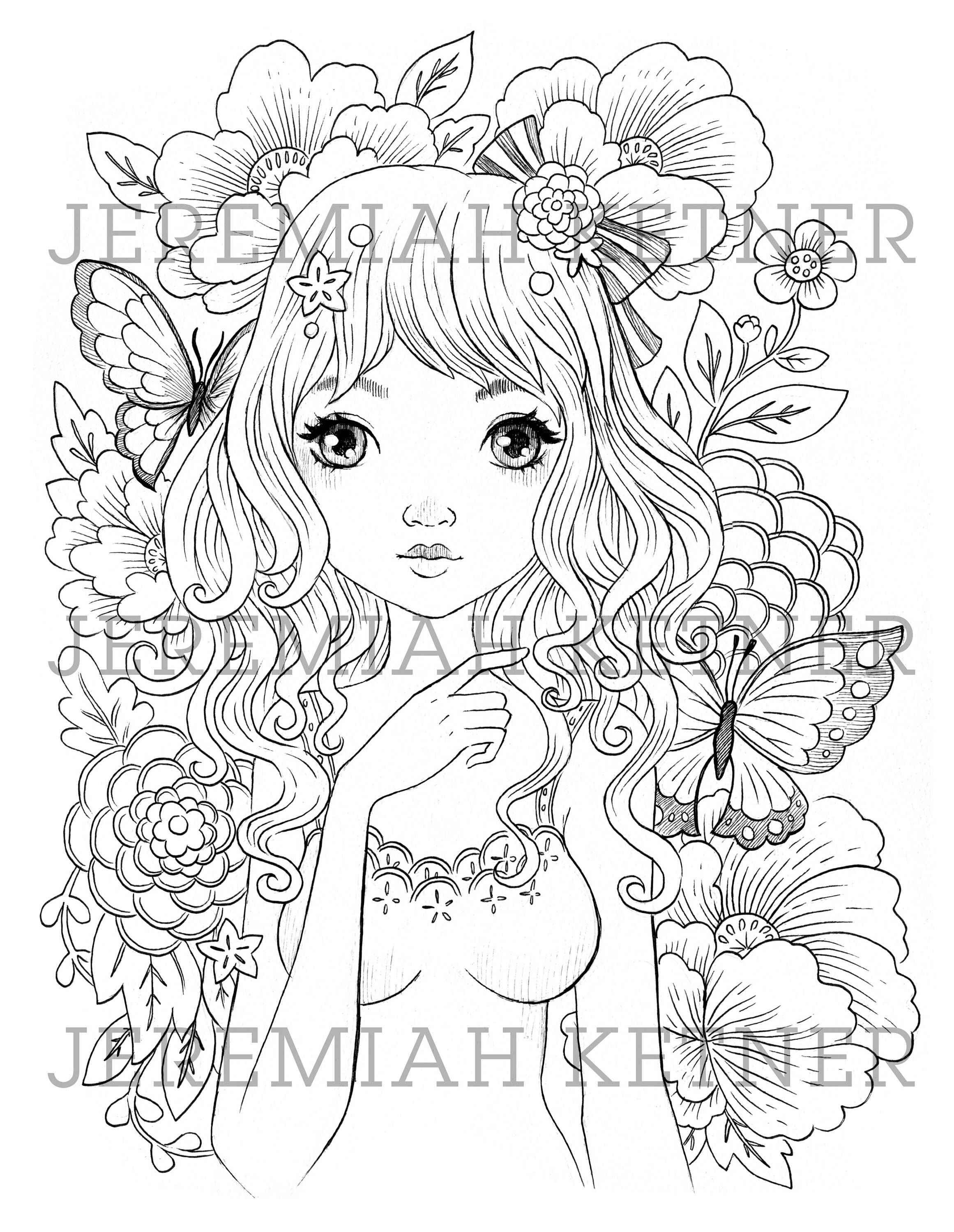 The Lonely Walk Coloring Page Coloring Pages Fantasy Drawings